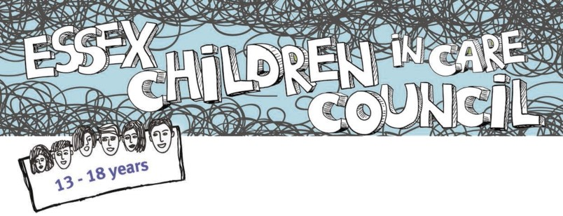 Essex Children in Care Council youth group logo)